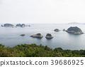 Seascape of Daesobyeongdaedo and Seobyeongdaedo  39686925
