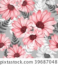 floral, flower, watercolor 39687048