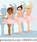 Ballet Class Girls 39689138