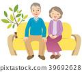 老人 夫婦 一對 39692628