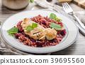 Chicken steak with buckwheat porridge 39695560