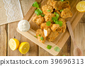 Chicken popcorn with garlic 39696313