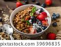 granola,fruit,food 39696835