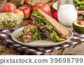 avocado, sandwich, healthy 39698799