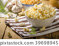 Domestic organic popcorn with herbs 39698945