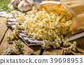 Domestic organic popcorn with herbs 39698953