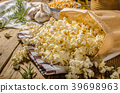Domestic organic popcorn with herbs 39698963