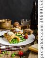 omelette, breakfast, parmesan 39699153