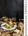 omelette, breakfast, dish 39699211