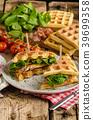 chicken waffles waffle 39699358