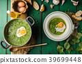 soup, pea, green 39699448