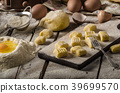 Homemade potato gnocchi 39699570