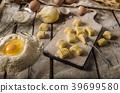 Homemade potato gnocchi 39699580