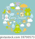 雨季图标 39700573