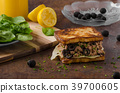 French toast with tuna and olives 39700605