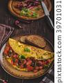 Vegetarian omelette 39701031