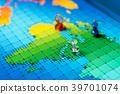 中東,地圖,大頭釘,顯示 39701074