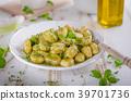 gnocchi pesto fresh 39701736