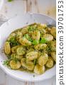 gnocchi pesto fresh 39701753
