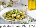 gnocchi pesto fresh 39701754