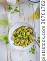 gnocchi pesto fresh 39701762