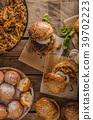 Barbecue pulled pork burger 39702223