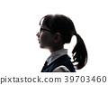초등학생, 소녀, 보다 39703460