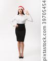 Business Concept - Modern caucasian business woman 39705454