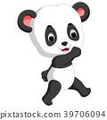 funny panda cartoon 39706094
