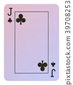 Playing cards, Jack of clubs 39708253