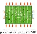 Table Football Vector Flat Design Illustration 39708581