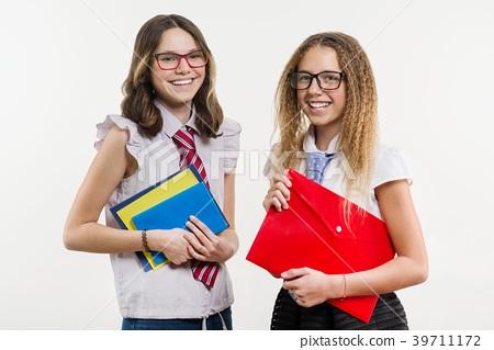 Happy high school friends 39711172
