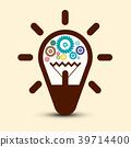 bulb, vector, symbol 39714400