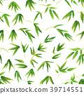 Seamless Background, Bamboo Leaves 39714551