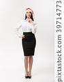 Business Concept - Modern caucasian business woman 39714773
