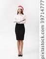 Business Concept - Modern caucasian business woman 39714777