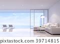Pool villa living room 3d render 39714815