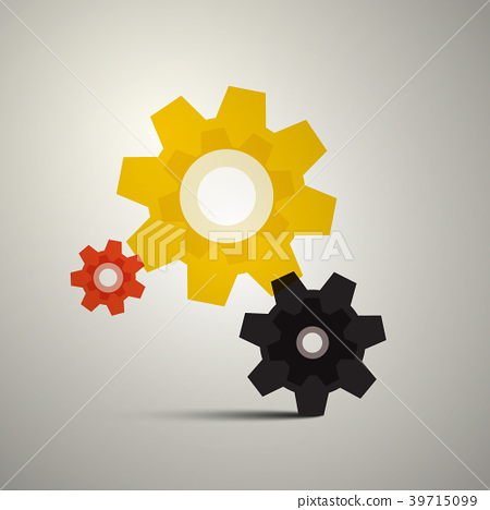 Cogs, Gears. Vector Cog Icon. Gear Symbol. 39715099