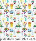 Vintage floral vector bouquet garden flower 39715876