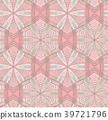 Vector seamless pattern with mandala shape. 39721796