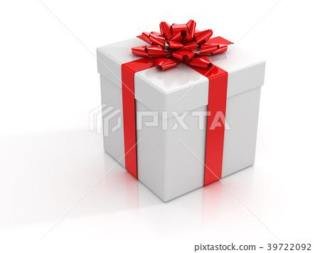 3d Gift Box 39722092
