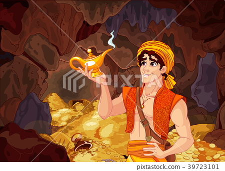 Aladdin and the Wonderful Lamp 39723101