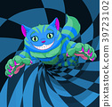 Cheshire Cat Jumping 39723102