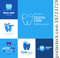 vector dental template 39723729