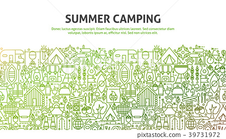 Summer Camping Concept 39731972