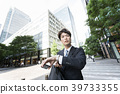 business man, youthful, go work 39733355