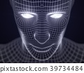 artificial intelligence concept with virtual human 39734484