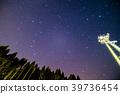 기후현 백조 도시의 밤하늘 39736454