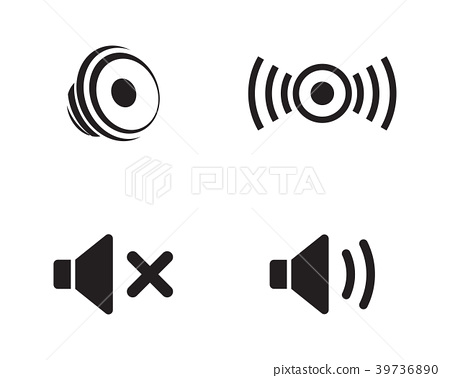 Sound Icon Vector Illustration Stock Illustration 39736890 Pixta Over 45 sound icon png images are found on vippng. https www pixtastock com illustration 39736890