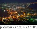 Night view of Hokkaido Hakodate 39737105